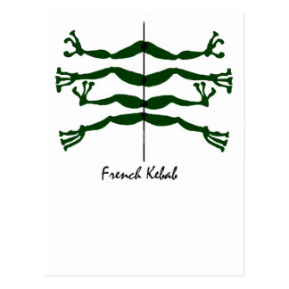 french kebab postcard