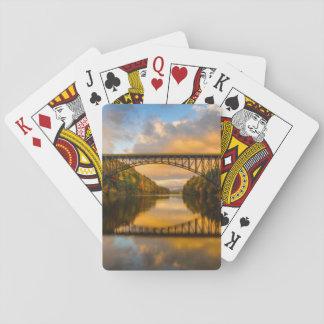French King Bridge in Fall Card Decks