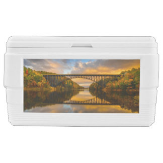 French King Bridge in Fall Chest Cooler