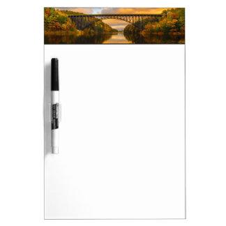 French King Bridge in Fall Dry-Erase Whiteboards