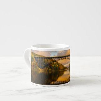 French King Bridge in Fall Espresso Cup