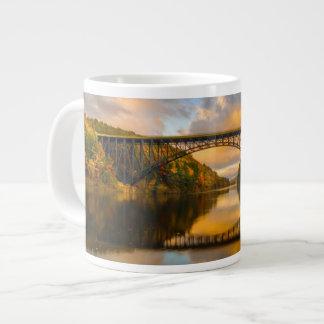French King Bridge in Fall Giant Coffee Mug