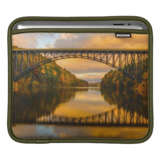 French King Bridge in Fall iPad Sleeve