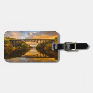 French King Bridge in Fall Luggage Tag