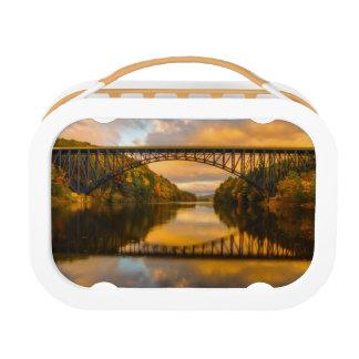 French King Bridge in Fall Lunch Box