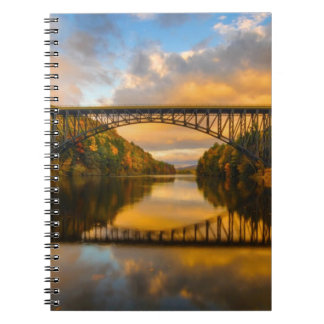 French King Bridge in Fall Notebook