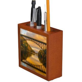 French King Bridge in Fall Pencil/Pen Holder