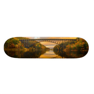 French King Bridge in Fall Skateboard