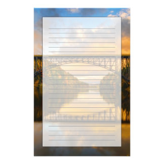 French King Bridge in Fall Stationery