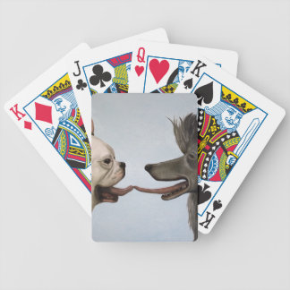 French Kiss Bicycle Playing Cards