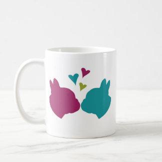 French Kiss Classic White Coffee Mug