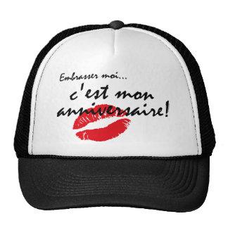 French Kiss Me Birthday Hat