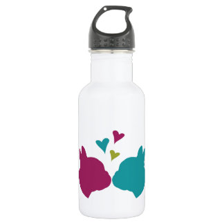 French Kiss Stainless Steel Water Bottle