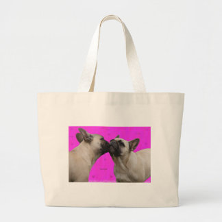 French Kisses Large Tote Bag