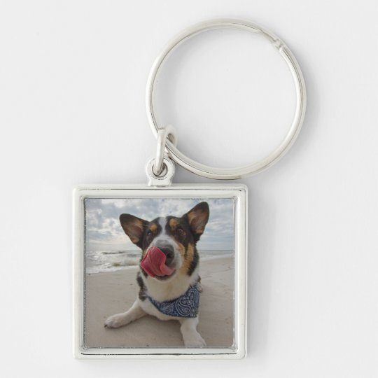 French Kissing Instructor Keychain