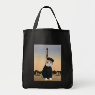 French Kitty Tote Bag