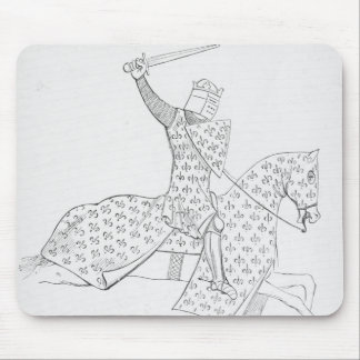 French Knight Mouse Pad