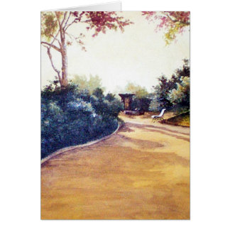 French Landscape Card