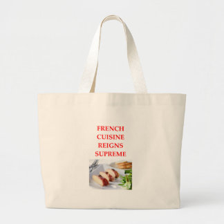 FRENCH LARGE TOTE BAG