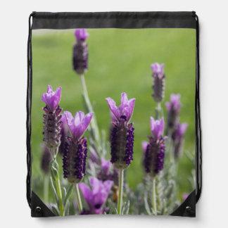 French Lavender Drawstring Bag