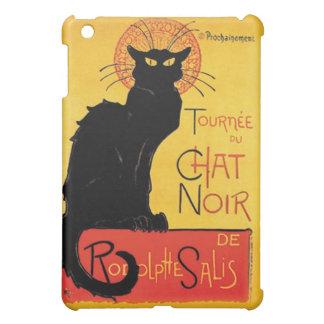 French Le Chat Noir Cabaret Black Cat Art Nouveau iPad Mini Cover