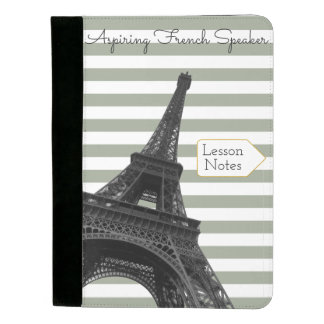 French Lesson Notes   Learn French   Eiffel Tower Padfolio