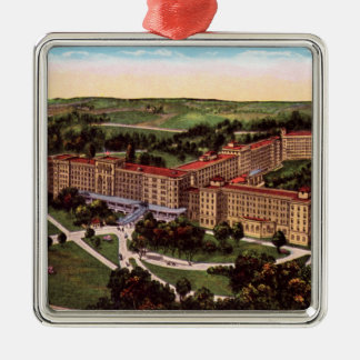 French Lick Indiana Birdseye Ornament
