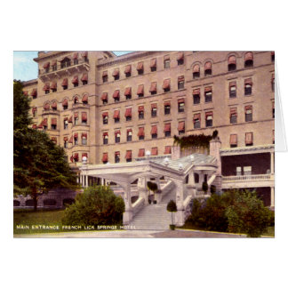French Lick Indiana French Lick Springs Hotel 1920 Cards