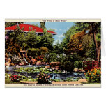 French Lick, Indiana Lily Pond Greeting Card