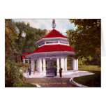 French Lick, Indiana Pluto Springs 1910 Greeting Card