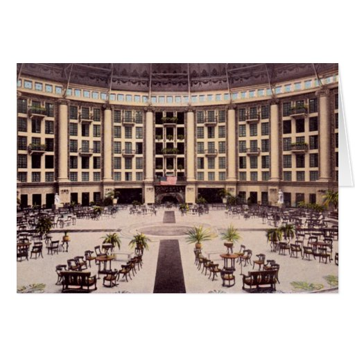 French Lick, Indiana West Baden Springs Hotel Greeting Card