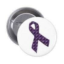 French Lilac Pinback Button