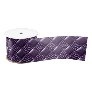 French Lilac Satin Ribbon