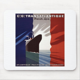 French Line Mouse Pads