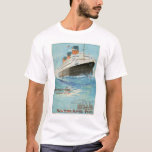 French Line ssParis Poster T-Shirt
