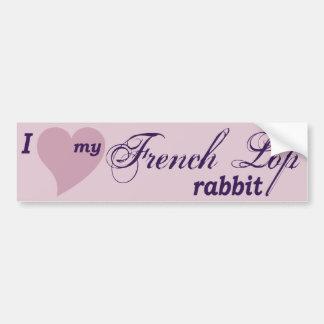 French Lop rabbit Bumper Sticker