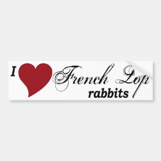 French Lop rabbits Car Bumper Sticker