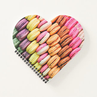 French macaron notebook