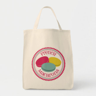 French Macarons Tote Bags