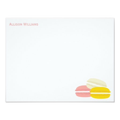 French Macarons Note Cards