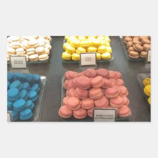French Macarons | Paris, France Rectangular Sticker