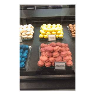 French Macarons   Paris, France Stationery