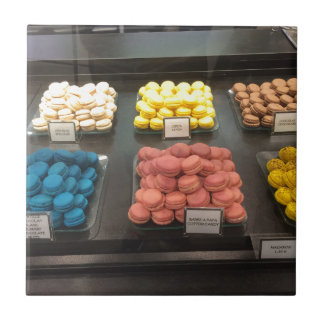 French Macarons | Paris, France Tile
