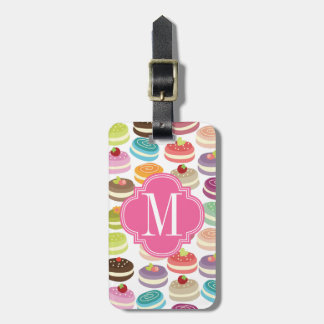 French Macarons Personalized Tag For Luggage