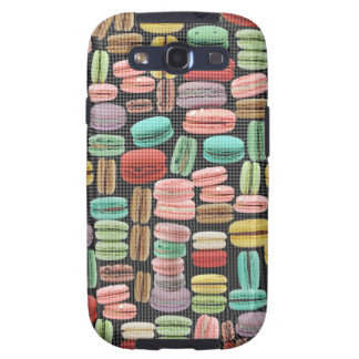 French Macarons Pop Art Samsung Galaxy S3 Covers