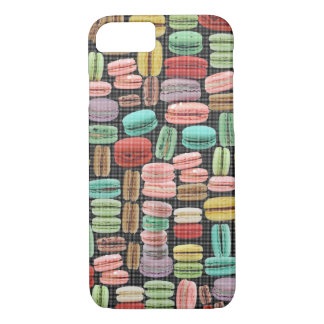 French Macarons Pop Art iPhone 7 Case