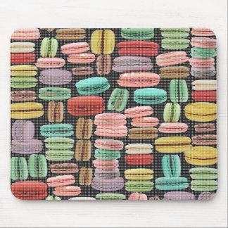 French Macarons Pop Art Mousepads
