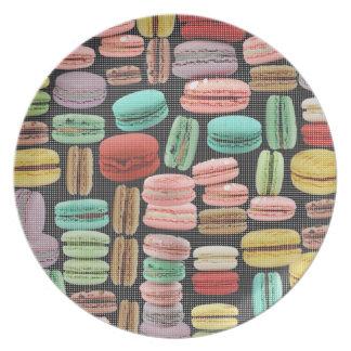 French Macarons Pop Art Plates
