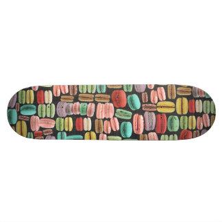 French Macarons Pop Art Skateboard
