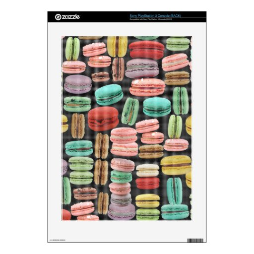 French Macarons Pop Art Skins For PS3